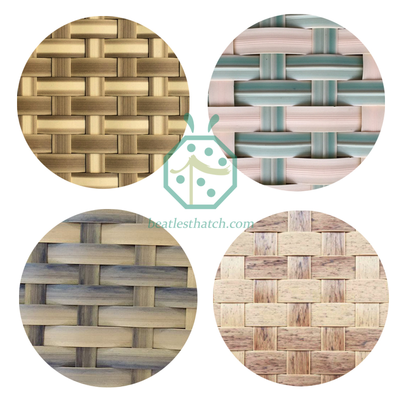 Plastic Bamboo Mat for ceiling decoration in Thailand