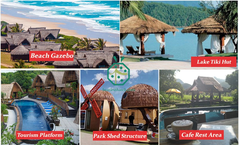 Various Places to use thatched roof gazebo