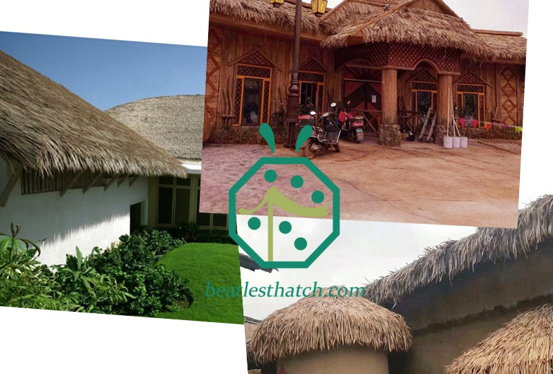 How to Build A Palapa Synthetic Thatched Roofing