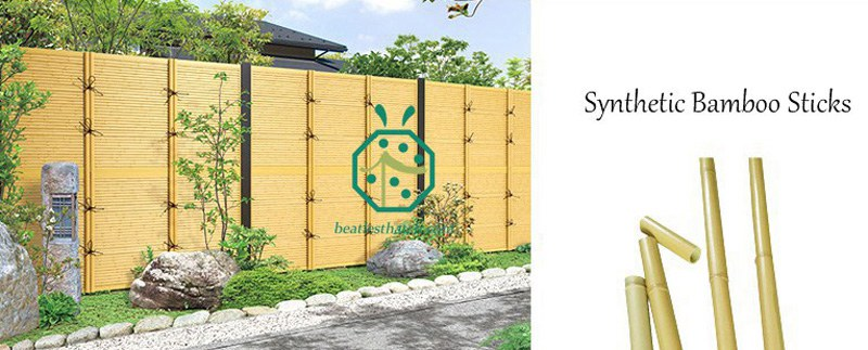 Simulated Bamboo Poles Supplier China