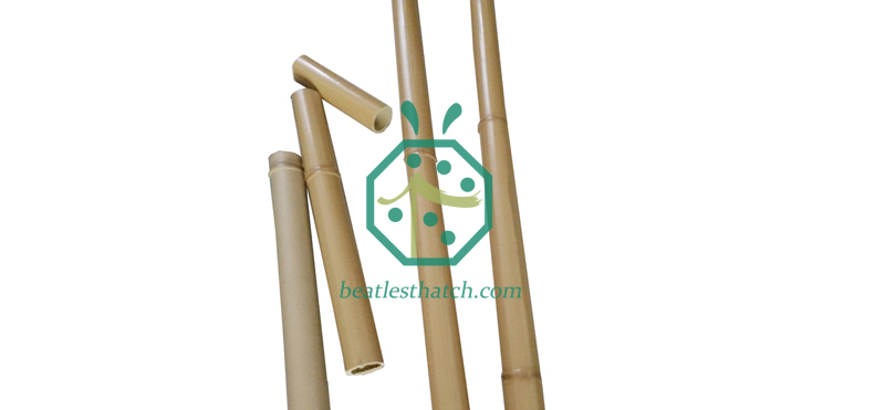 Artificial Bamboo Sticks For Outdoor Garden Fence Screen Use