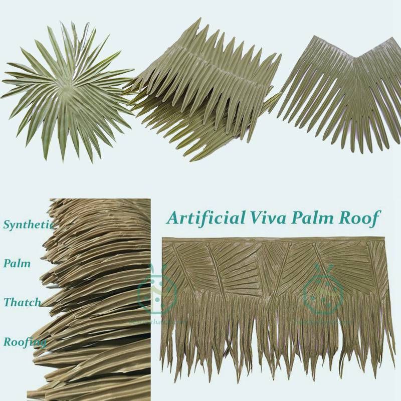 full accessories palm thatch roofing solution