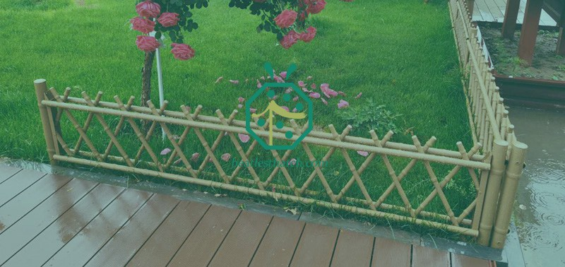 Iron Bamboo Tubes For Private or Commercial Park Patio Fence