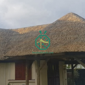 Artificial palm thatch roof