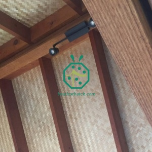 Plastic Reed Mat For Zoological Palapa Ceiling