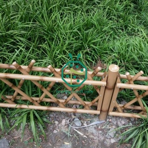 Stainless Steel Bamboo Fence Used For Park Decoration