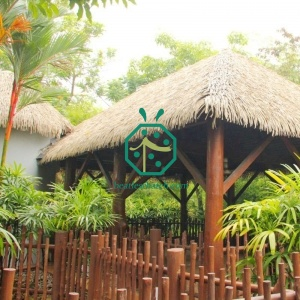 Fireproof Synthetic Nipa Palm Thatch Roof For Bungalow