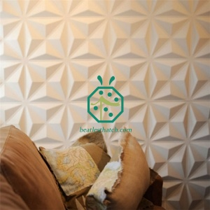 Soundproof 3D Wall Panels For Nightclub Decoration