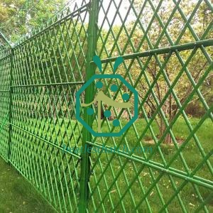 garden stainless steel bamboo fence