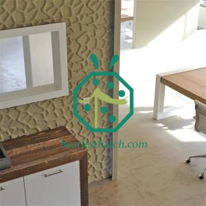 Eco-friendly 3D Decorative Wall Panels for Residential Apartment