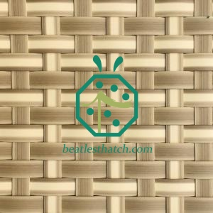 plastic tiki bar thatch matting