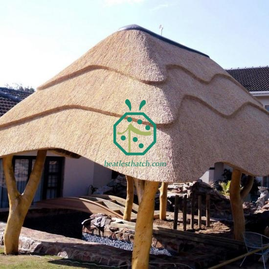 Water Reed Thatch Tiles For Log Cabin