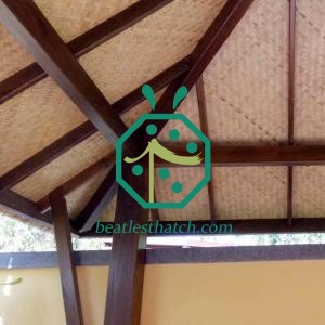 Plastic Cane Mat For Commercial Palapa Projects