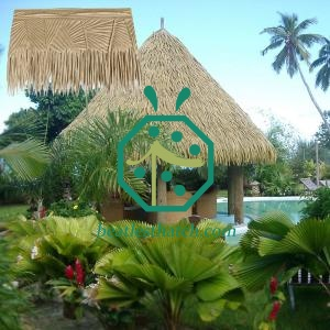 Mauritius Artificial Palm Leaf Thatch Panels