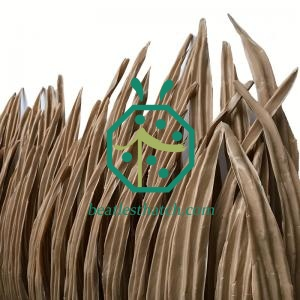 Fireproof Synthetic Bohio Palm Thatch Roofing Dominica