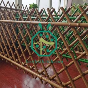 Iron bamboo fencing UAE