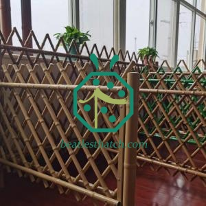 Iron bamboo fencing Colombia