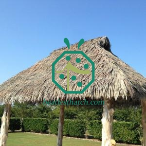 Synthetic Viva Palm Thatch For Tiki Roof Maintenance
