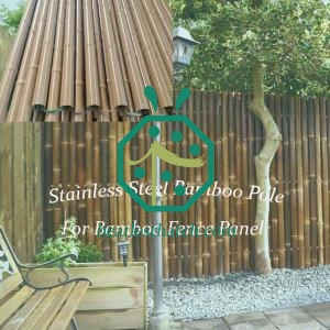 Iron bamboo fencing Germany
