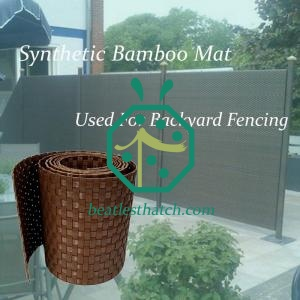 Synthetic bamboo fencing Germany