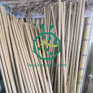 Long artificial bamboo poles