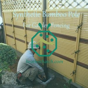 Fake bamboo poles for sale