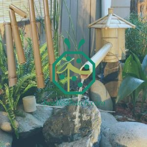 Artificial bamboo fountain sticks