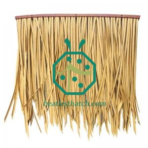Artificial straw thatch roof for patio