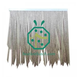 Tree Hut Construction Artificial Thatch Roof Material