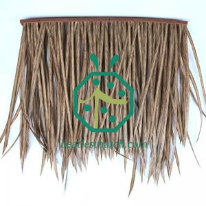 Synthetic PE Thatch Roof For Tiki Hut