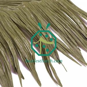 Synthetic thatch roof maintenance Brazil
