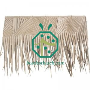 Synthetic palm leaf thatch El Salvador