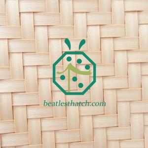 Bali Hut Synthetic Palm Leaf Ceiling Mat