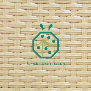 Beach hut woven bamboo wall panels