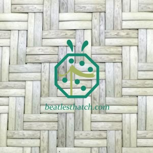 plastic woven reed mat