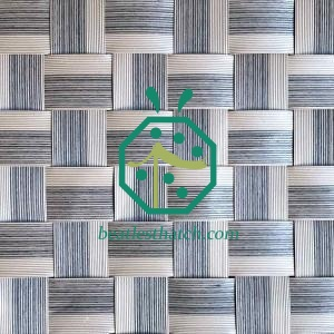Luxury Resort Guestroom Woven Palm Leaf Matting