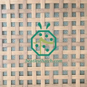 Synthetic bamboo mat ceiling UK