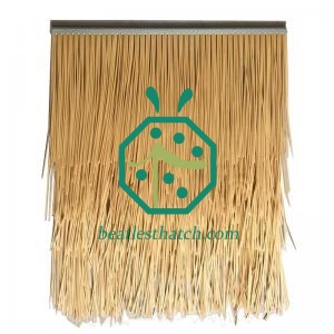 Artificial bamboo thatch shade roof