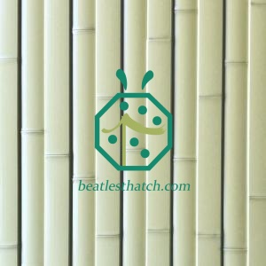 Durable Artificial Bamboo Slat Fencing