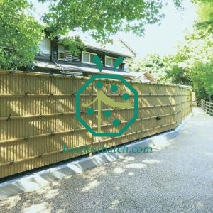 Synthetic bamboo fencing uk