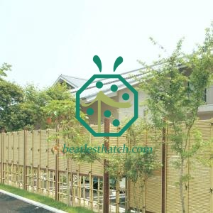 Artificial bamboo screening USA