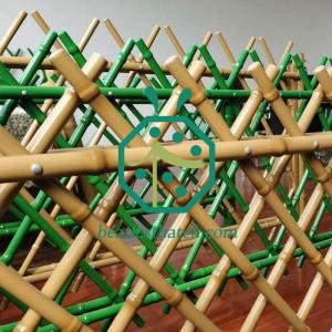 bamboo fence for park decoration
