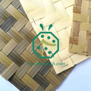 Fireproof Lodge House Bamboo Wall Decor Matting