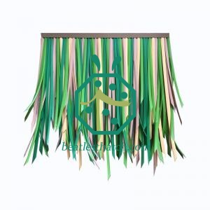 Artificial thatch for tiki hut