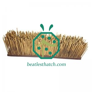African lapa reed thatch eave panel