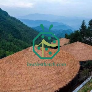 Competitive price synthetic thatch roofing