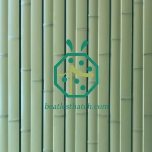 UV proof fake bamboo fence panels