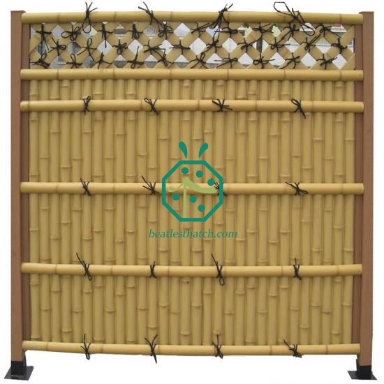Plastic Bamboo Panels For Gazebo