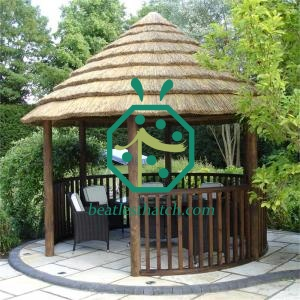 Gazebo cape reed thatch roof panels