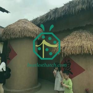 Tropical Artificial Palapa Thatch Roof For Sale